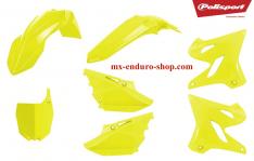kit plastique jaune fluo yamaha