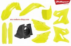 kit plastique restylé yamaha jaune fluo