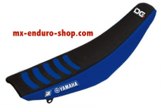 housse selles yamaha noir et bleu